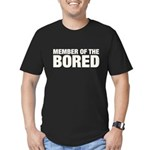Member of the Bored Men's Fitted T-Shirt (dark)