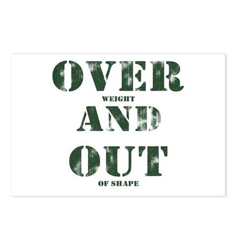 Over & Out Postcards (Package of 8)