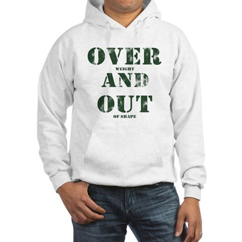Over & Out Hooded Sweatshirt