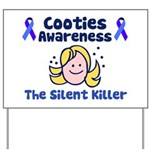 Cooties Awareness Yard Sign