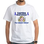 Cooties Awareness White T-Shirt