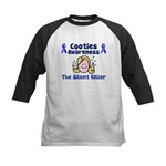 Cooties Awareness Kids Baseball Jersey