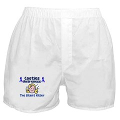 Cooties Awareness Boxer Shorts