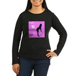 iFart Funny Spoof Women's Long Sleeve Dark T-Shirt