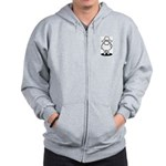 We're Here We're Sheared Get Used To It! Zip Hoodie