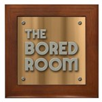 The Bored Room Framed Tile