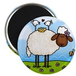 Spring Sheep Magnet