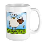 Spring Sheep Large Mug