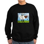 Spring Sheep Sweatshirt (dark)