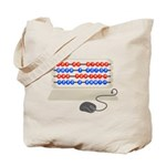 QWERTY B.C. Tote Bag