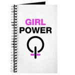Girl Power Symbol Journal