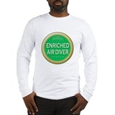 Certified Nitrox Diver Long Sleeve T-Shirt