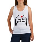 I Love Audio Guides Women's Tank Top