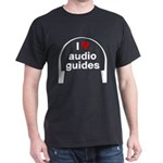 I Love Audio Guides Dark T-Shirt