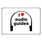 I Love Audio Guides Banner