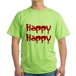 Happy Happy Joy Joy Green T-Shirt