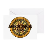 Astrological Sign Greeting Card