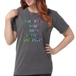 Fire Breathing Dragon/Castle Women's Fitted T-Shir