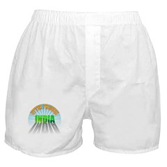 Uttar Pradesh India Boxer Shorts