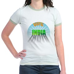 Bhopal India Jr. Ringer T-Shirt