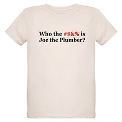 Who Is Joe The Plumber Organic Kids T-Shirt