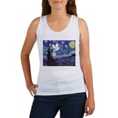 Starry Dove Women's Tank Top