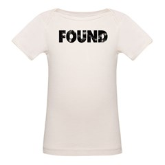 Found (Not Lost) Organic Baby T-Shirt