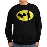 Bat Man Sweatshirt (dark)