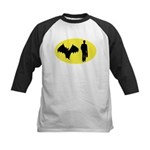 Bat Man Kids Baseball Jersey