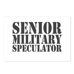 Senior Military Speculator Postcards (Package of 8)