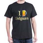 I Love Belgium (Beer) Dark T-Shirt