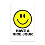 Have a Nice Jour Mini Poster Print