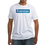 Evenstad Norway Fitted T-Shirt