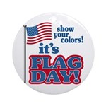 Flag Day Ornament (Round)