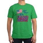 Flag Day Men's Fitted T-Shirt (dark)