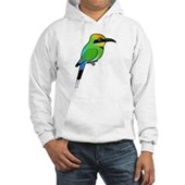Rainbow Bee-eater Hooded Sweatshirt