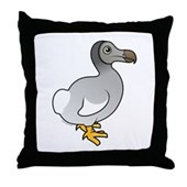Birdorable Dodo Throw Pillow