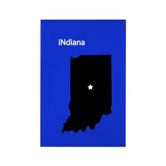 iNdiana Rectangle Magnet
