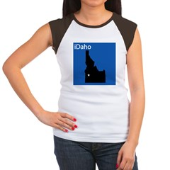 iDaho Women's Cap Sleeve T-Shirt