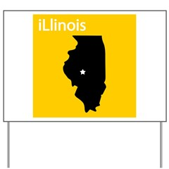 iLlinois Yard Sign