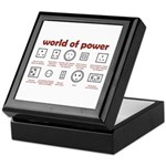 World of Power Keepsake Box