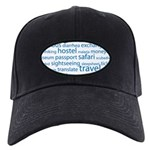 Travel Tag Cloud Black Cap