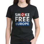 Smoke Free Europe Women's Dark T-Shirt