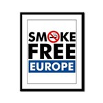 Smoke Free Europe Framed Panel Print