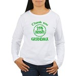 25% Irish - Thank You Grandma Women's Long Sleeve T-Shirt