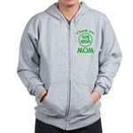 50% Irish - Thank You Mom Zip Hoodie