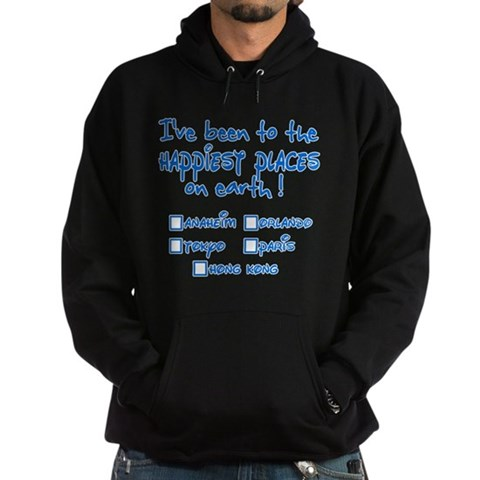 Happiest Places on Earth Hoodie (dark)