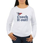 Czech It Out Women's Long Sleeve T-Shirt