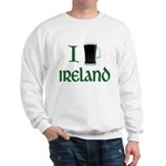I Love Ireland (beer) Sweatshirt