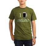 I Love Ireland (beer) Organic Men's T-Shirt (dark)